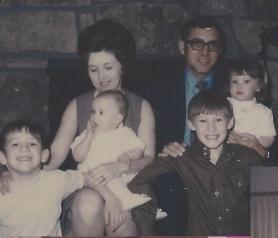 The Gilliam Family 1972